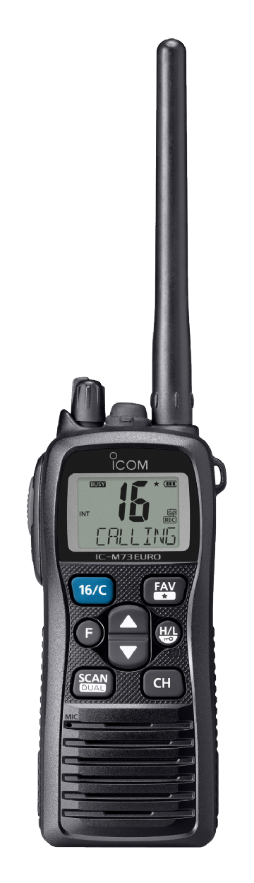 ICOM IC-M73EURO Professional VHF Waterproof Handheld Radio